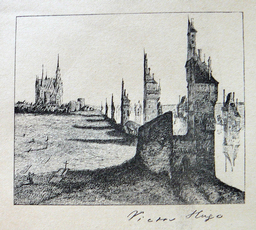 a drawing by Hugo